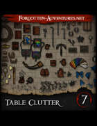 Table Clutter - Pack 7