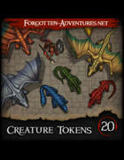 Creature Tokens Pack 20