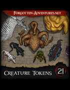 Creature Tokens Pack 21