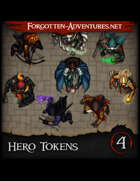 Hero Tokens Pack 4