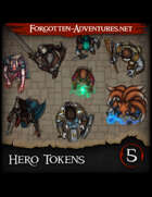 Hero Tokens Pack 5