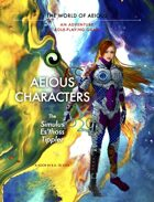 AEIOUS Characters: The Simulus/Es'thoss/Tippler