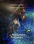 World of AEIOUS: Æquipment & Player's Guide [BUNDLE]
