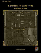 Chronicles of Ballidrous - Town Locations - Tattered Cloak Tavern & Residence Hall