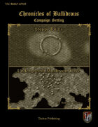 Chronicles of Ballidrous - Battle Maps - Steppe Ruins and Underground Mushroom Cave