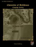 Chronicles of Ballidrous - Battle Maps - Pond in Woods & Lakeside Dock