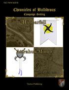 Chronicles of Ballidrous - Town Maps – Habbarfell and Attrahuk Manor