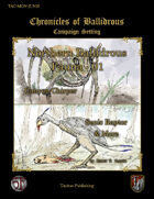 Chronicles of Ballidrous - Northern Ballidrous Fauna - 01