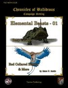 Chronicles of Ballidrous - Elemental Beasts - 01
