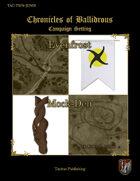 Chronicles of Ballidrous - Town Maps – Evenfrost & Mock-Den