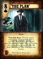 """the Plan"" - Custom Card"