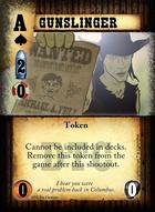 Gunslinger - Custom Card