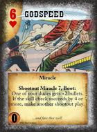 Godspeed - Custom Card