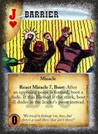 Barrier - Custom Card