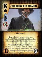 "John Henry ""doc"" Holliday - Custom Card"