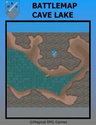 Battlemap Cave Lake