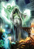 Cover full page - The Ghost - RPG Stock Art