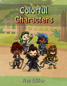 Colorful Characters: Free Edition