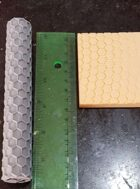 Hex Tile Roller (1/3 of an inch)
