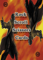 Mazith  Rock paper scissors RPG card