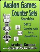 Avalon Counters, Starships Set #1