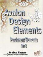Avalon Design Elements Parchment Set 2