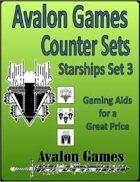 Avalon Counters, Starships Set #3