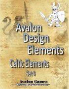 Avalon Design Elements, Celtic Set #4