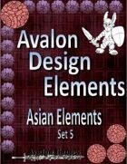 Avalon Design Elements, Asian Set 5