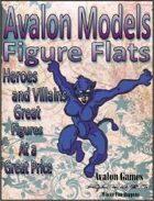 Avalon Models, Heroes & Villains
