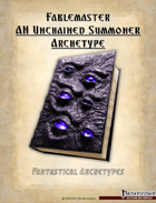 Fantastical Archetypes: Fablemaster
