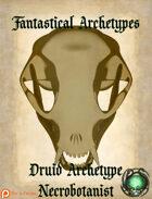 Fantastical Archetypes: Druid archetype Necrobotanist
