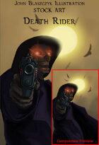 Character - Death Rider - Stock Art