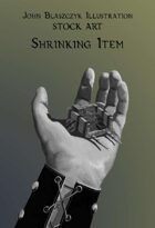 Magic Item - Shrinking Cart - Stock Art