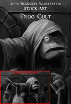 Monster - Frog Cult - Stock Art