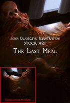 Horror - Last Meal - Stock Art