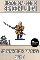 H-sj-001 - Warrior Monks Set 1