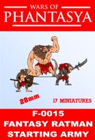 F-0015 - FANTASY RATMAN STARTING ARMY