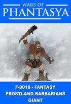 F-0018 - Fantasy Frostland Barbarians Giant
