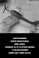 Ww2-0000 - GERMAN JU 87B STUKA