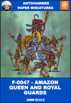 F-0047 - AMAZON QUEEN AND ROYAL GUARDS
