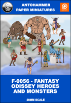 F-0056 - FANTASY ODISSEY HEROES AND MONSTERS 1
