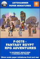 F-0078 - FANTASY EGYPT RPG ADVENTURES