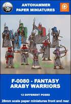 F-0080 - FANTASY ARABY WARRIORS