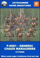 F-0081 - GENERIC CHAOS MARAUDERS