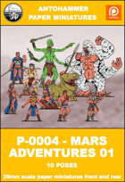 P-0004 - MARS ADVENTURES 01