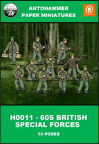 H-0011 - 60S BRITISH SPECIAL FORCES