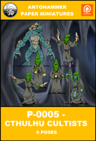 P-0005 - CTHULHU CULTISTS