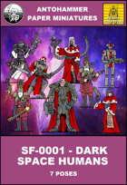 SF-0001 - DARK SPACE HUMANS
