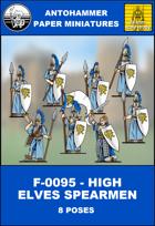 F-0095 - HIGH ELVES SPEARMEN